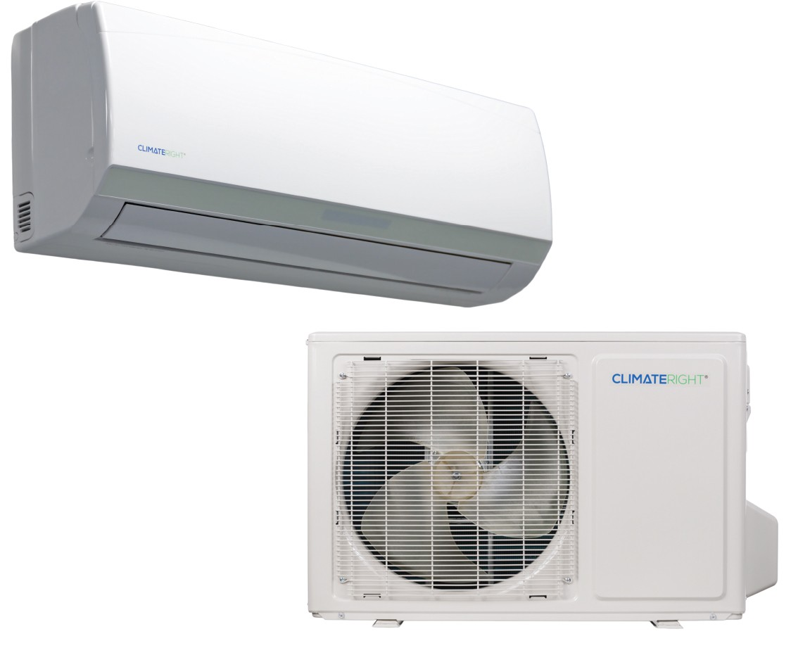 ClimateRight CR12000SACH Ductless Mini Split Air Conditioner and Heater