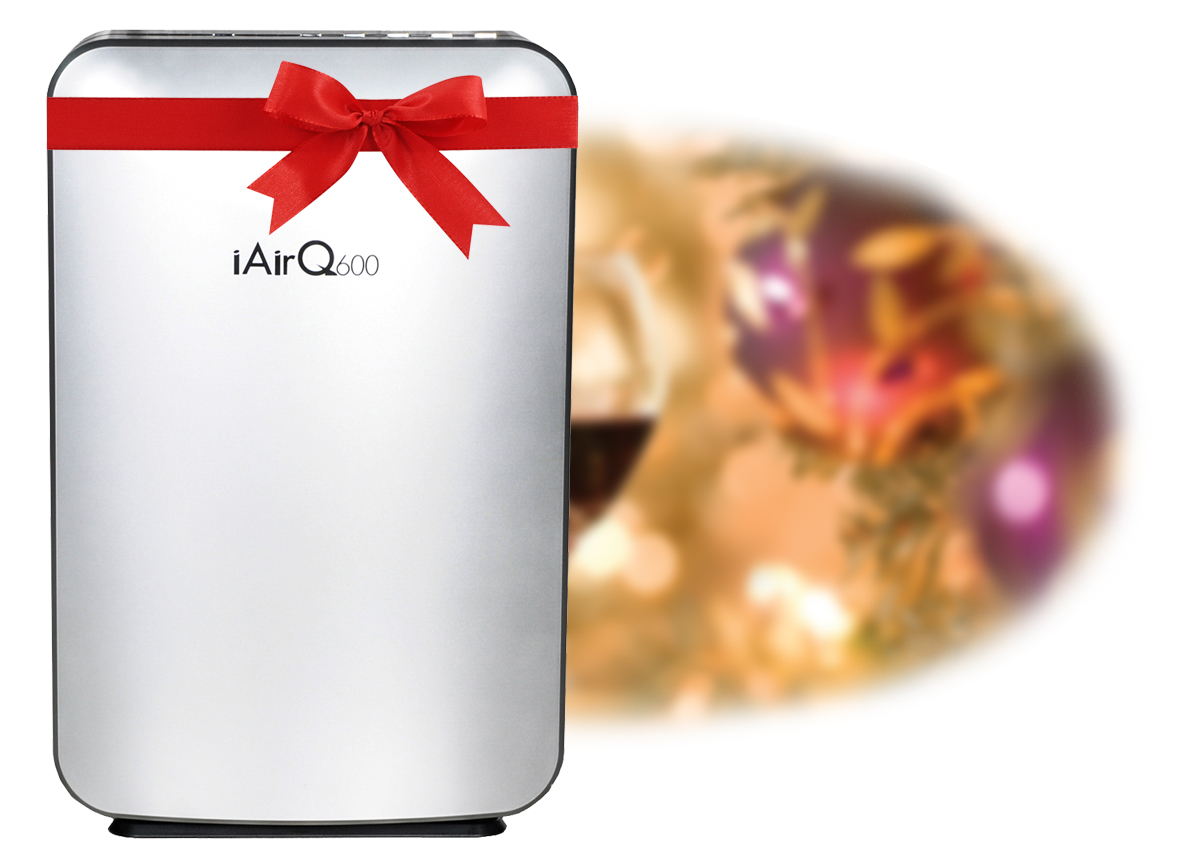 iAirQ600 for the Holidays