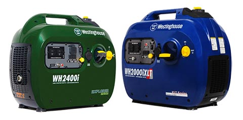 Westinghouse WH2000iXLT and 2400i Explorer Series